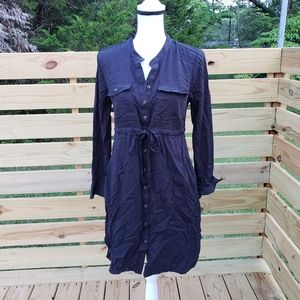XS Old Navy MATERNITY Black shirt Dress